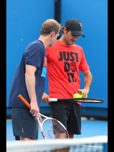 Roger and Edberg