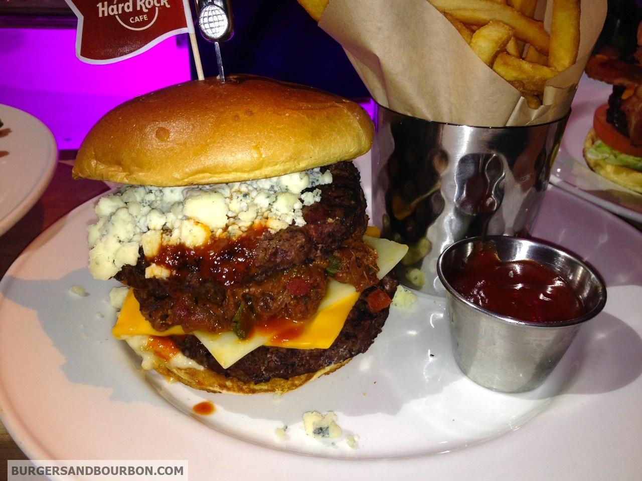 Blue Cheese Burger (a.k.a Red White & Blue Burger) | BELACAN ...