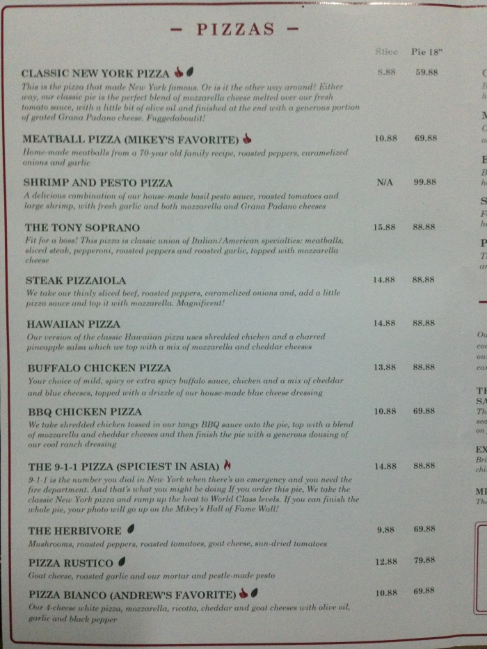 mikey's original new york pizza menu 01