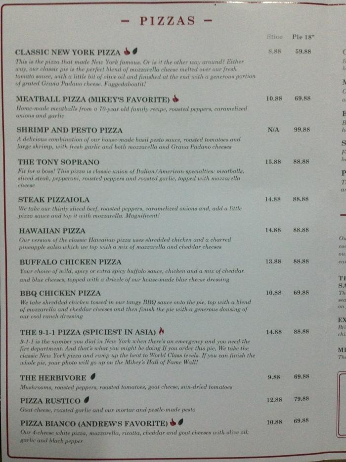 mikey's original new york pizza menu 01