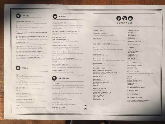 Jibby & Co Menu 2