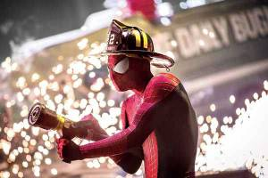 amazing spiderman 2 - fireman