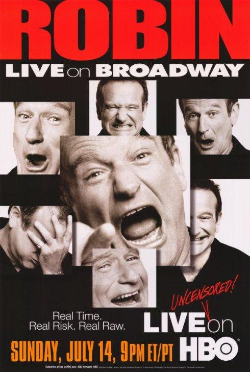 Robin Williams : Live on Broadway