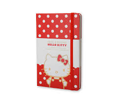 Moleskine - Hello Kitty - Red - Plain 001