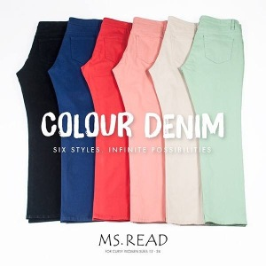 Ms. Read Colour Denim