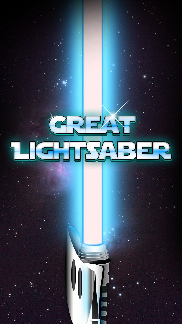 Great Light Saber App
