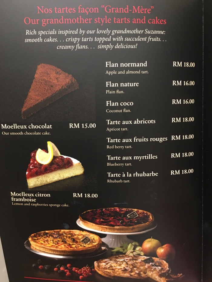Paul KL Menu 18
