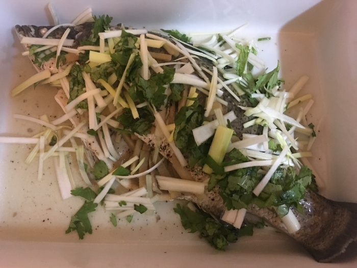 Chinese Style Steamed Fish - 004