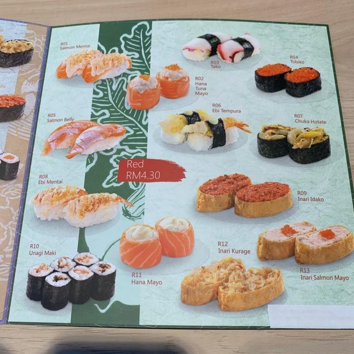 BGCB - Nippon Sushi - Sushi Menu 003