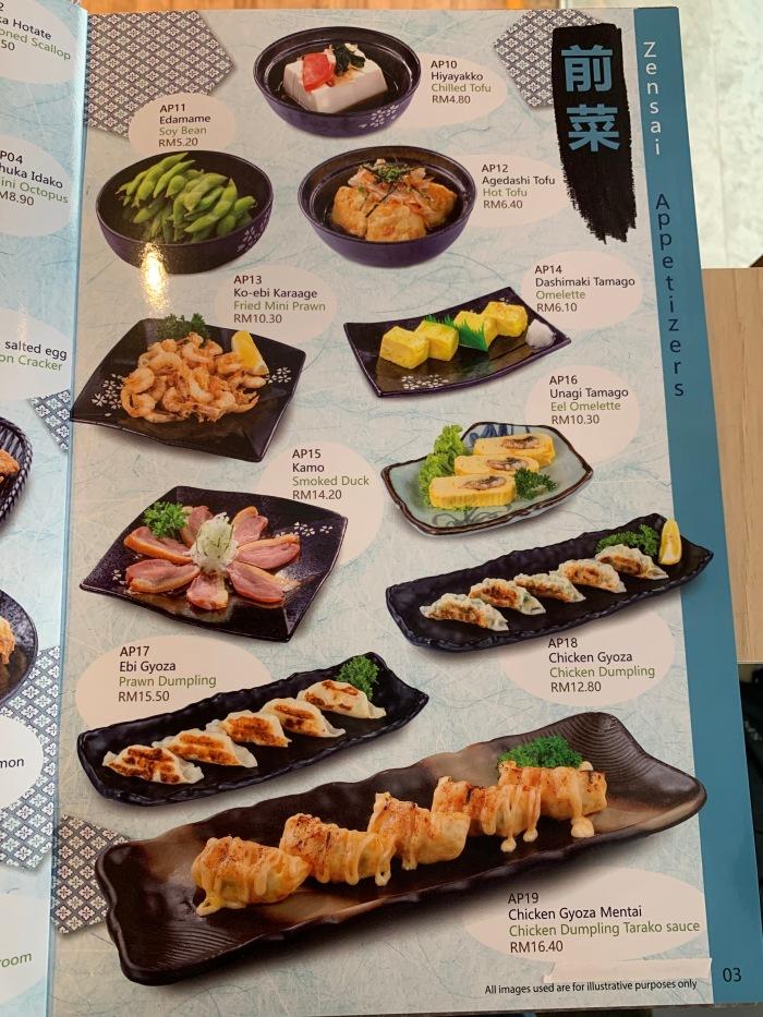 Nippon Sushi Menu 003