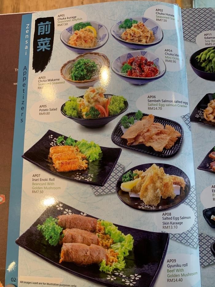 Nippon Sushi Menu 004