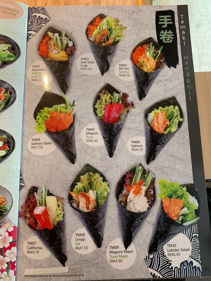 Nippon Sushi Menu 005